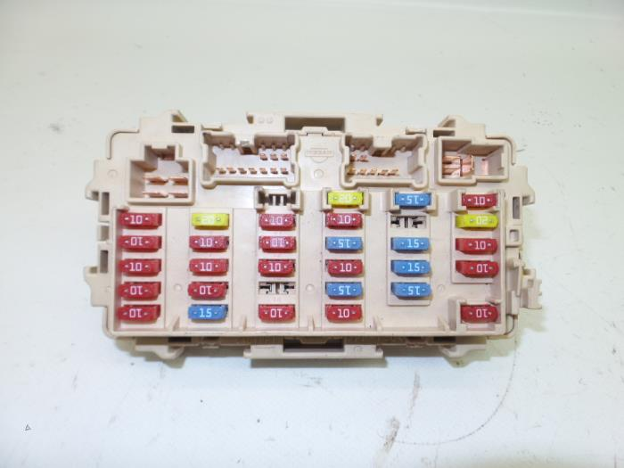 fuse box for 2004 nissan x trail used nissan x-trail (t30) 2.2 dci 16v 4x2 fuse box ...