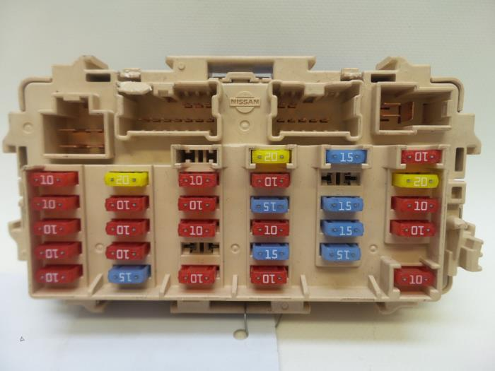 Used nissan trail t v fuse box japoto