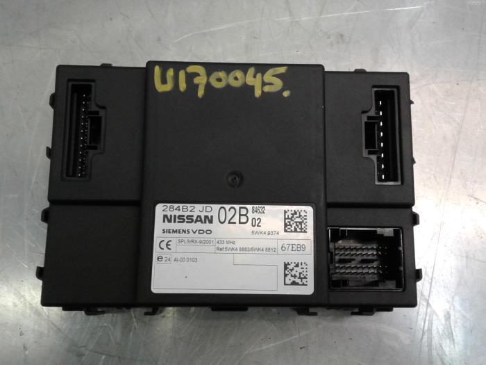 gebrauchte nissan qashqai (j10) 1.6 16v navigation modul