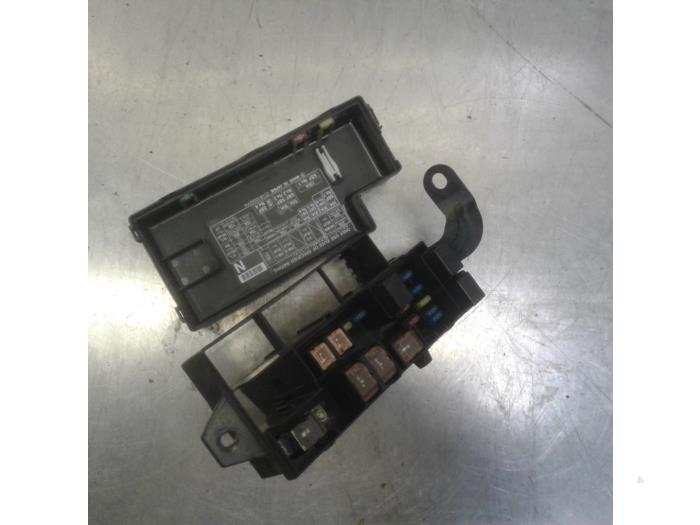fuse box from a subaru forester (sg) 2 0 16v x 2003