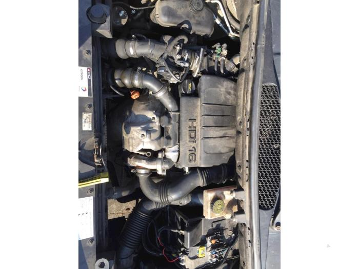 Engine from a Citroën Berlingo 1.6 Hdi 16V 90 2012