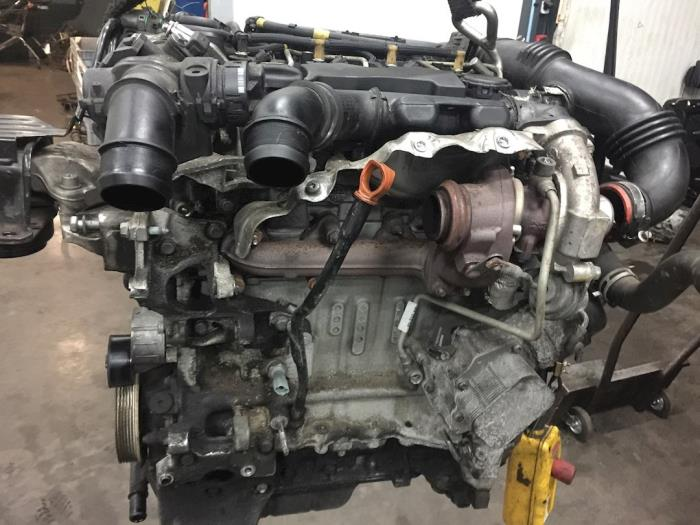 Motor van een Citroën Berlingo 1.6 Hdi 16V 90 2012