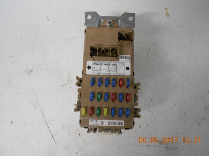 used subaru forester fuse box - jb200400 - autorecycling ... fuse box subaru forester 2006