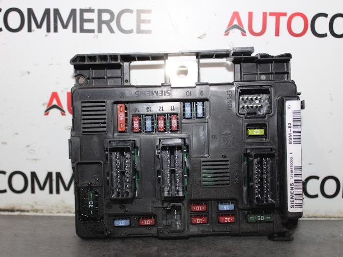 Citroen Berlingo 1 9d Fuse Box Diagram
