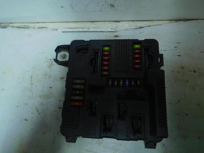 Used renault megane ii bm cm dci fuse box