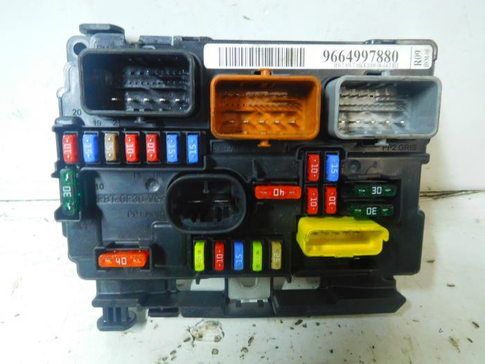 Used Citroen C2  Jm  1 1 Fuse Box