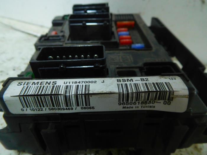used citroen berlingo 1 6 hdi 75 16v phase 1 fuse box 965061858000 rh proxyparts com