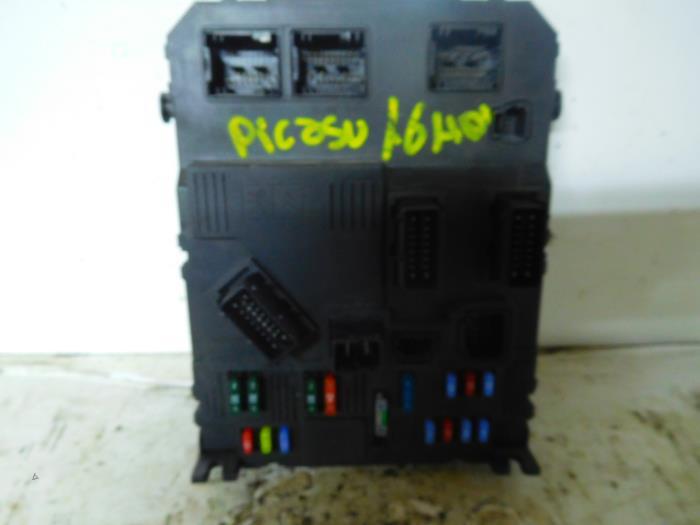 Fuse Box On A Citroen Xsara Picasso