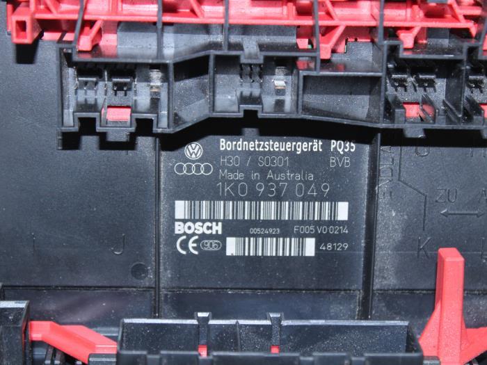 Used volkswagen golf v k fsi fuse box