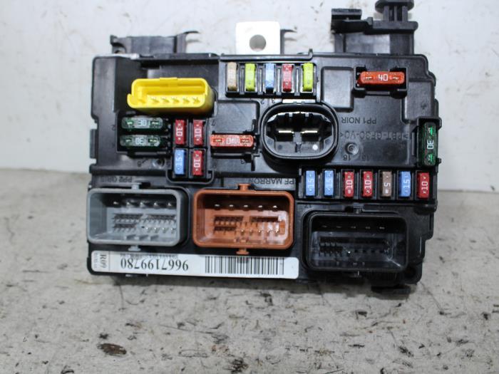 citroen c3 fuse box spares citroen c3 fuse box removal #9