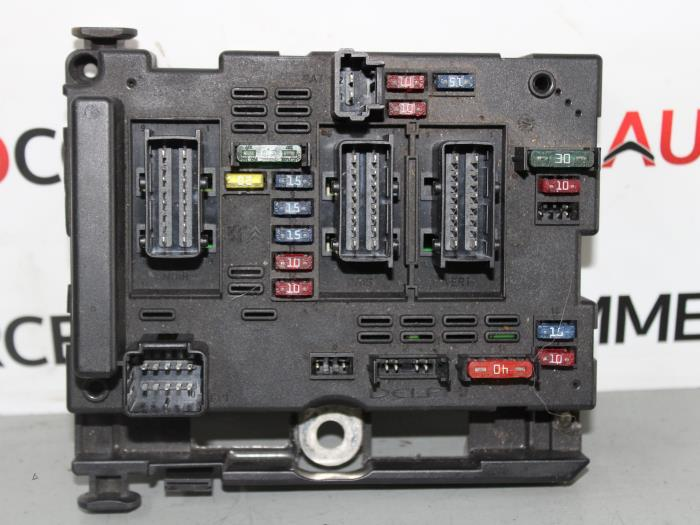 Where Is The Fuse Box Peugeot 307 : Used peugeot a c d v fuse box bsmb