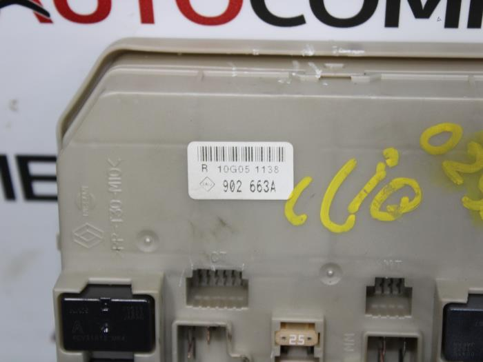Used renault clio iii sr dci fuse box a