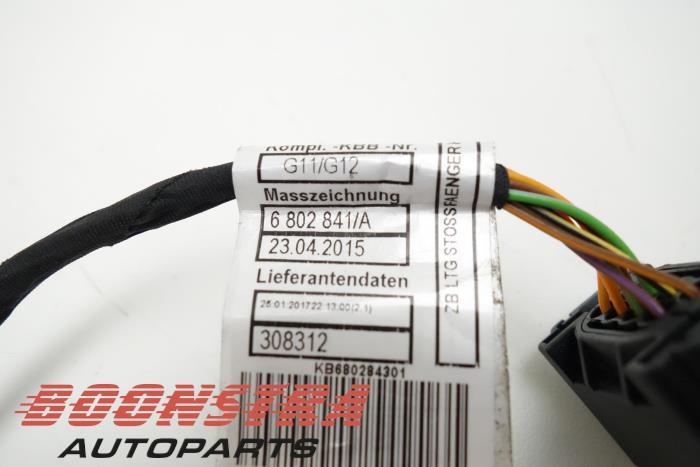 Enjoyable Used Bmw 7 Serie Pdc Wiring Harness 61126802843 Boonstra Wiring Database Ilarigelartorg