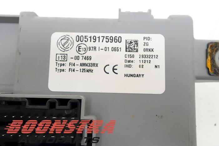 fuse box from a fiat punto iii (199) 0 9 twinair 2012