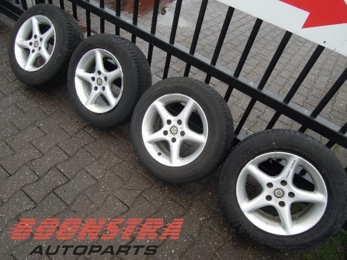 Used Skoda Octavia 1z3 16 Mpi Kat Set Of Wheels 65r15