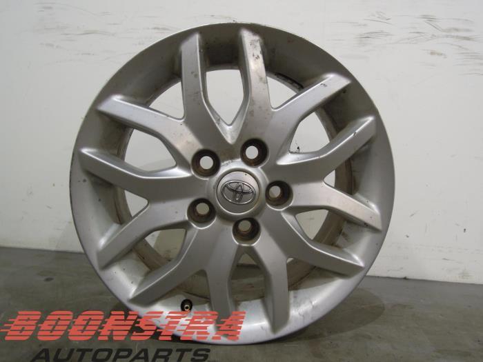 Usage Toyota Auris Jante Pz474e067dz Alliage Leger Boonstra