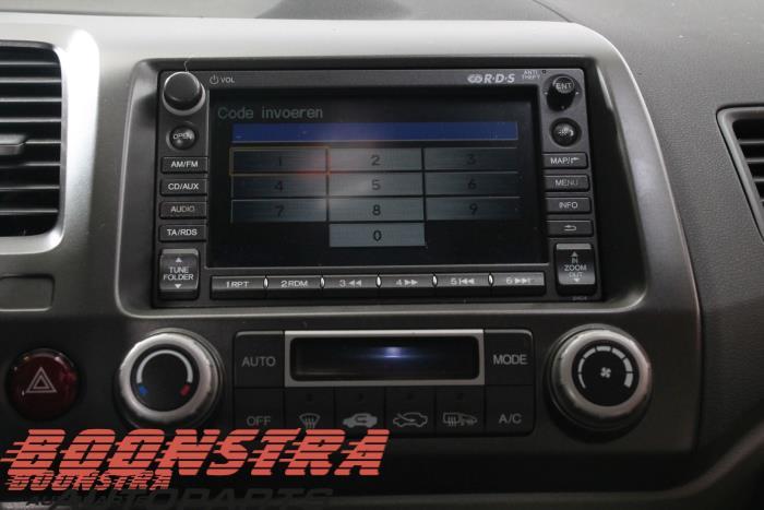 Navigation System From A Honda Civic Fa Fd 1 3 Hybrid 2008