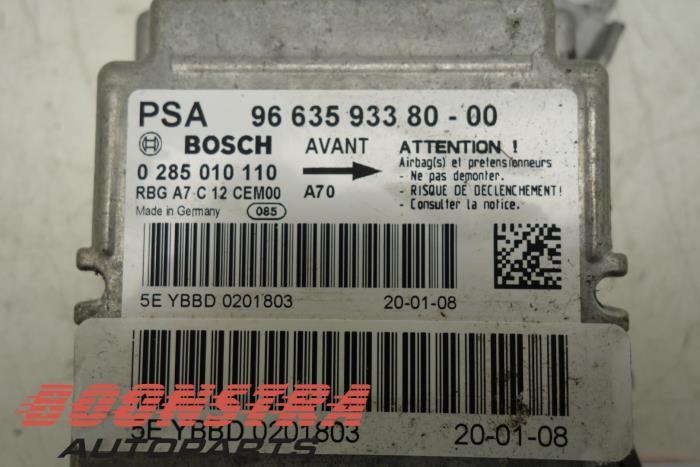 Used Peugeot 207 (WA/WC/WM) 1 4 HDi Airbag Module