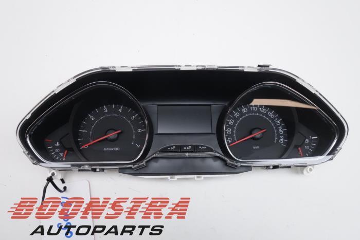 Usage Peugeot 208 Ca Cc Ck Cl 1 2 Vti 12v Puretech Compteur