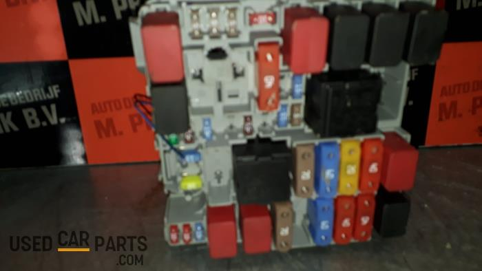 fiat punto fuse box location used fiat punto evo  199  0 9 twinair fuse box 51827977  used fiat punto evo  199  0 9 twinair