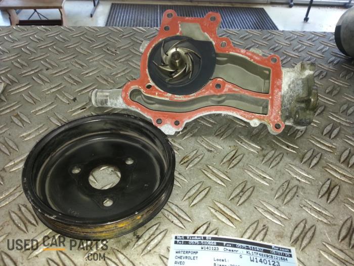 Used Chevrolet Aveo 12 16v Water Pump 90531737 Monk Bv