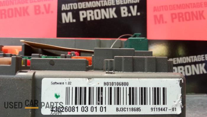 fuse box from a bmw 3 serie (e92) 325i 24v 2007