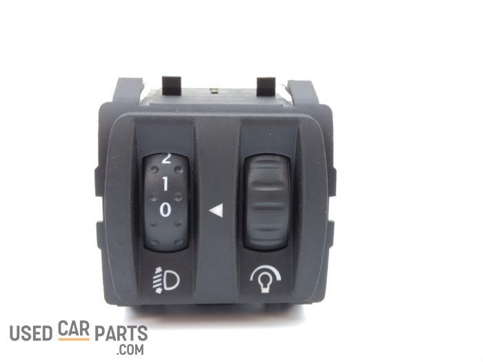 Headlight Switch Construction : Used renault twingo ii cn v aih headlight switch