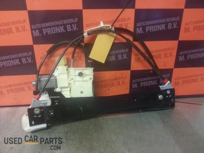 Rear door window mechanism 4-door, left from a Ford S-Max (GBW) 2.0 TDCi 16V 2012