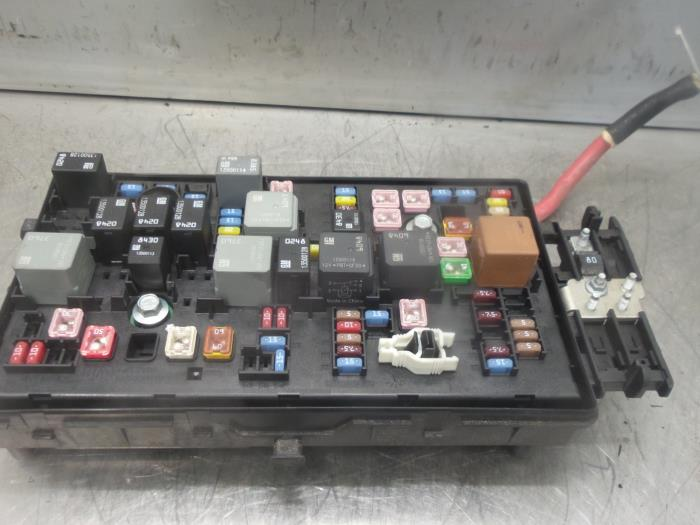Fuse Box From A Opel Insignia 2009