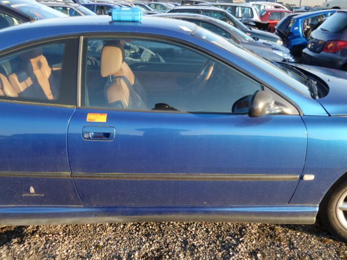 Used Peugeot 406 Coup 8c 20 16v Door 2 Door Right Color Code