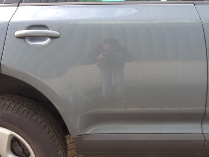 Rear door 4-door, right from a Volkswagen Touareg (7LA/7L6) 3.0 TDI V6 24V 2006