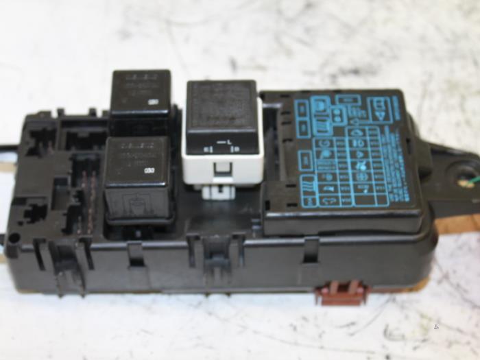 used mitsubishi space star dg 1 8 16v gdi fuse box 9k1106244860 rh proxyparts com 2008 Mitsubishi Fuse Box Location 2009 Mitsubishi Galant Fuse Box