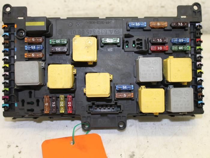 used mercedes vito (639 7) 2 2 113 cdi 16v euro 5 fuse box 2017 mercedes sprinter fuse box diagram mercedes benz vito w639 fuse box