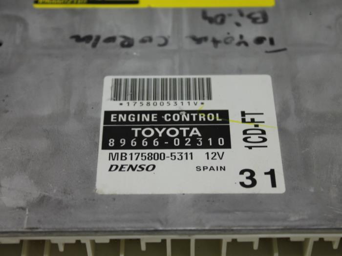 Used Toyota Corolla Wagon (E12) 2 0 D-4D 16V 90 Engine management