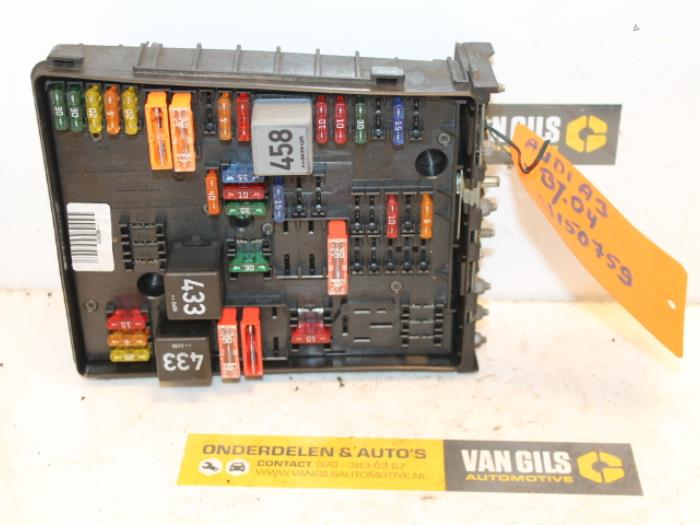 Used Audi A3 Sportback (8PA/PS) 2.0 TDI 16V Fuse box - 1K0937124 - Van Gils  Automotive | ProxyParts.comProxyParts.com
