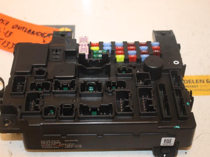 mitsubishi mini truck wiring diagram used mitsubishi outlander (gf/gp) 2.0 16v phev 4x4 fuse ... mitsubishi box truck fuse box #11