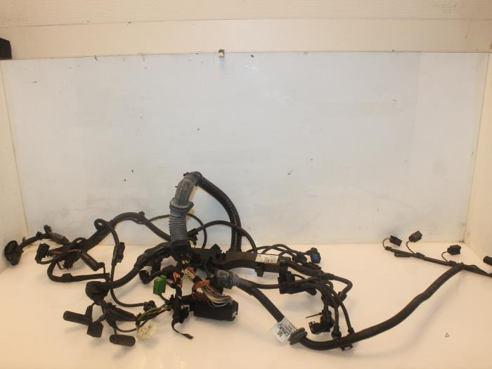 used bmw x3 (e83) 2 0d 16v wiring harness 758037602a van gils
