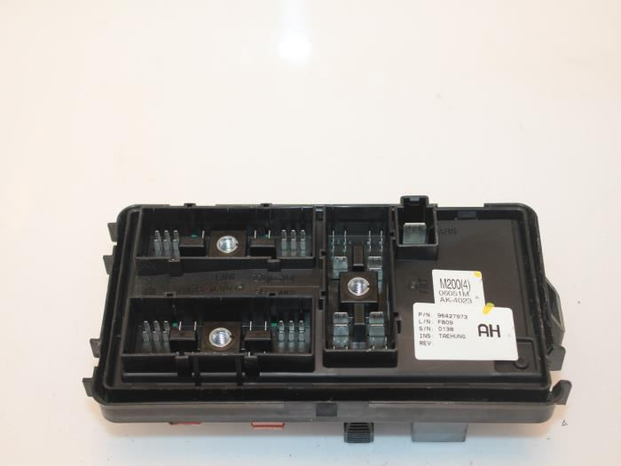 fuse box from a chevrolet matiz (used)
