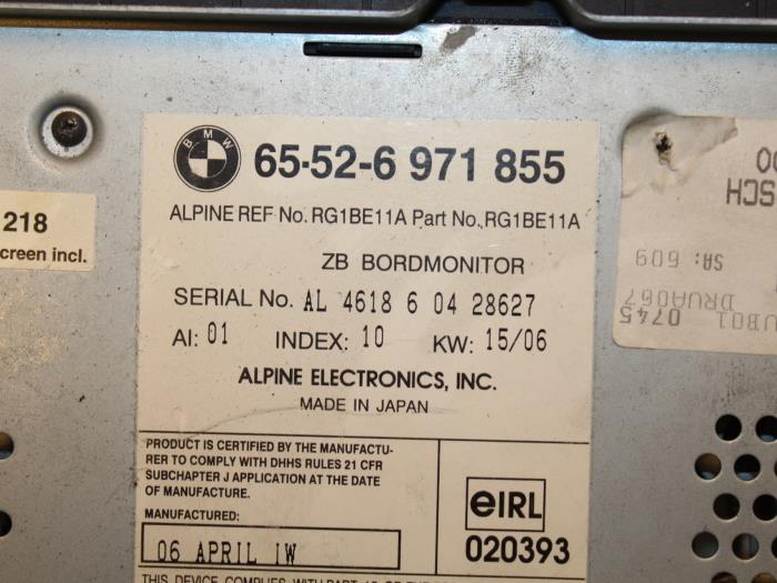 Used BMW 3-Serie Navigation system - 65526971855 - van Gils