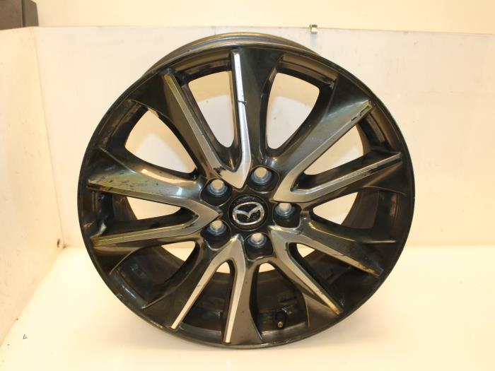 Used Mazda Cx 3 20 Skyactiv G 120 Wheel 9965277080 Alloy