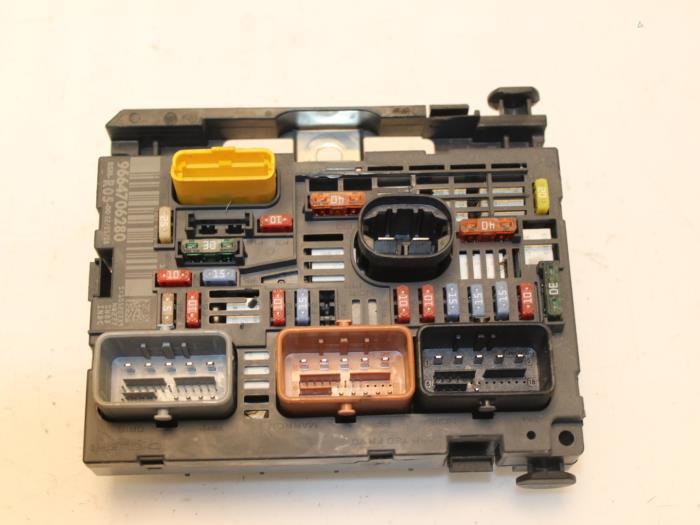 used peugeot 308 4a c 1 6 vti 16v fuse box 9664706280 van gils rh proxyparts com
