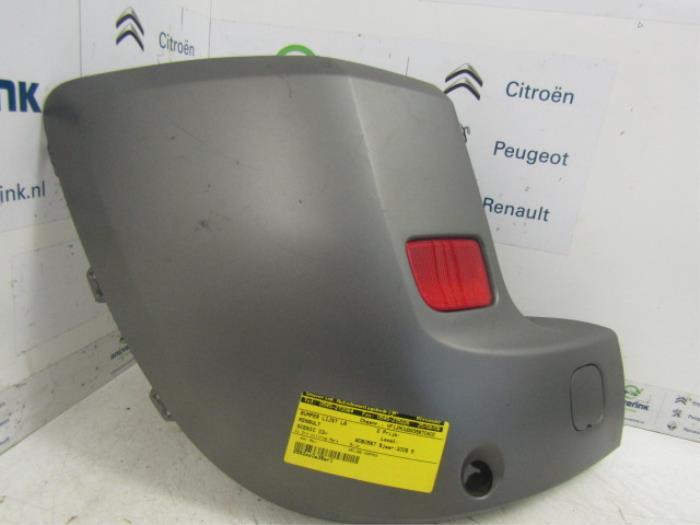 Used Renault Scenic Rear bumper strip, left - 8200228308