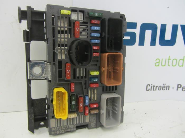 peugeot 407 fuse box used peugeot 5008 fuse box - 9675877980 - snuverink ... peugeot 5008 fuse box #5