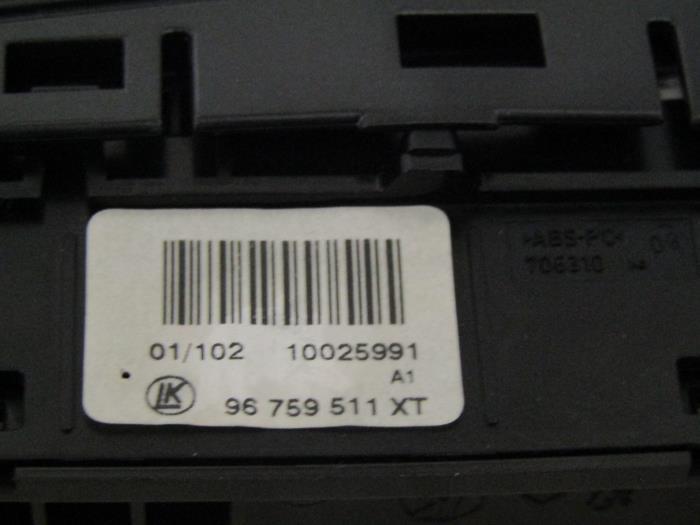 Used Peugeot 308 CC (4B) 1 6 16V THP 155 ESP switch - 96759511XT