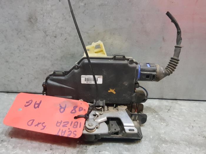 Usagé Seat Ibiza Serrure portière mécanique 4portes arrière ...