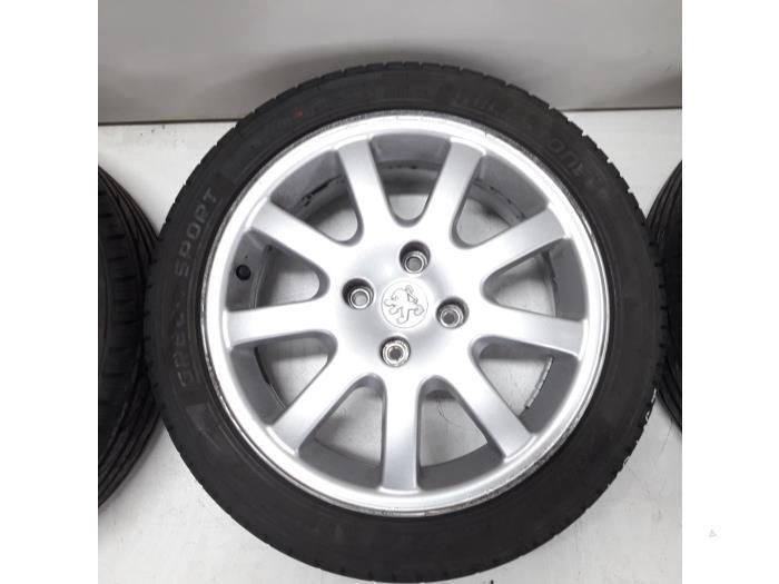 Used Peugeot 206 Cc 2d 16 16v Set Of Sports Wheels