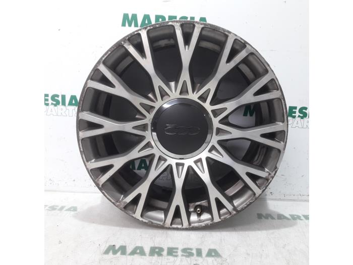Used Fiat 500 12 69 Wheel 51840487 Alloy Maresia Parts