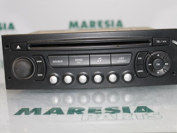 used citroen c4 coup la 1 6 16v radio cd player 9664769677 maresia parts. Black Bedroom Furniture Sets. Home Design Ideas