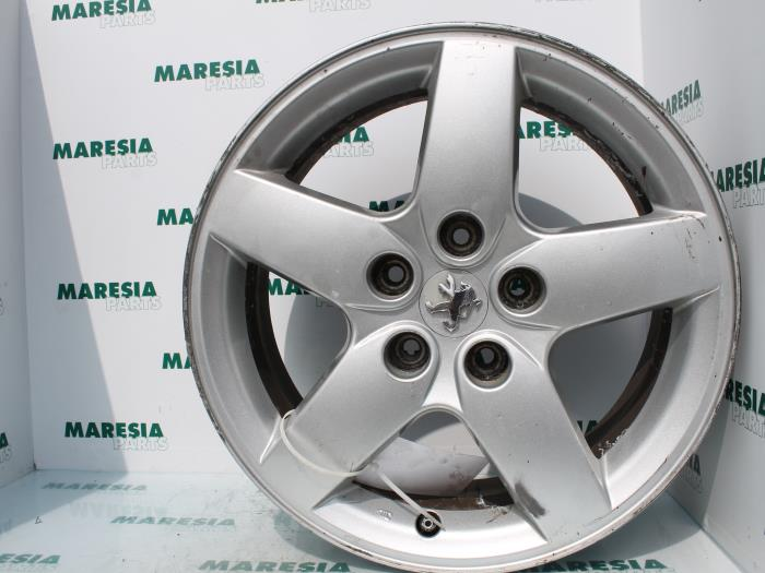 Used Peugeot 407 Sw 6e 20 Hdif 16v Wheel Univers Alloy