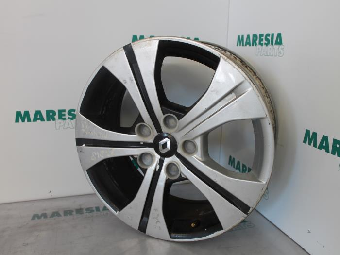 used renault megane iii coupe dz 2 0 16v rs turbo wheel 403000067r alloy maresia parts. Black Bedroom Furniture Sets. Home Design Ideas